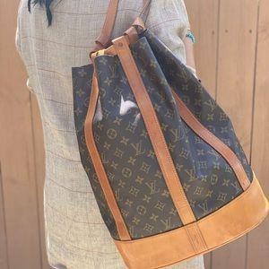 Authentic Louis Vuitton Randonne GM Backpack
